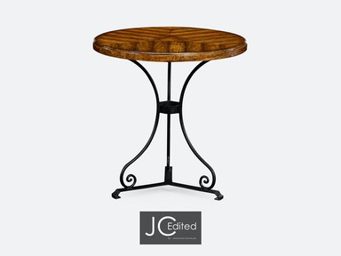 Jonathan Charles Country Walnut Style Parquet Table 491046-CFW
