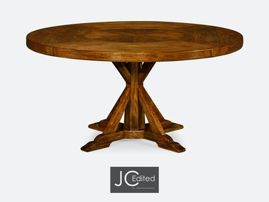 Jonathan Charles Dining Room 60 Quot Circular Dining Table In