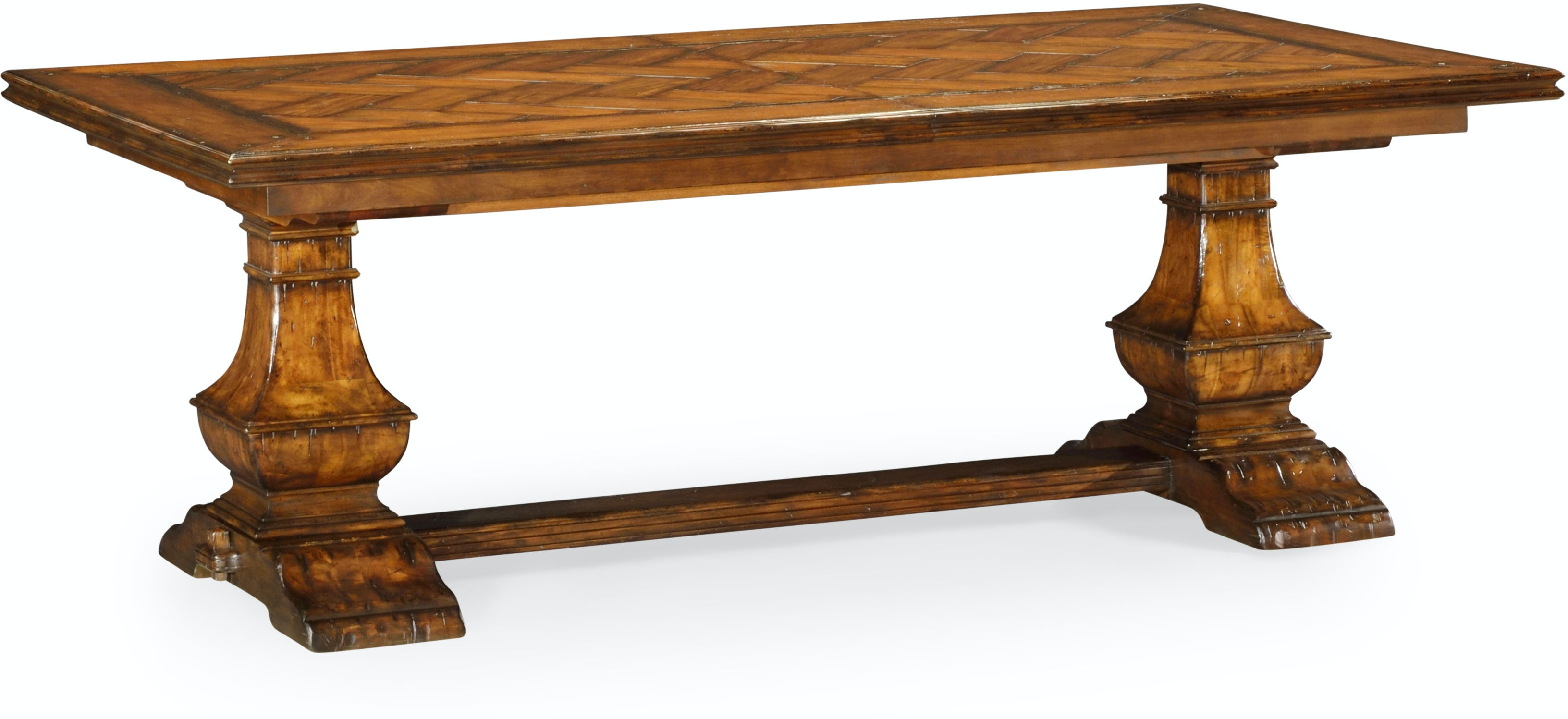 86 Extending Dining Table In Country Walnut Qj49116986lcfw