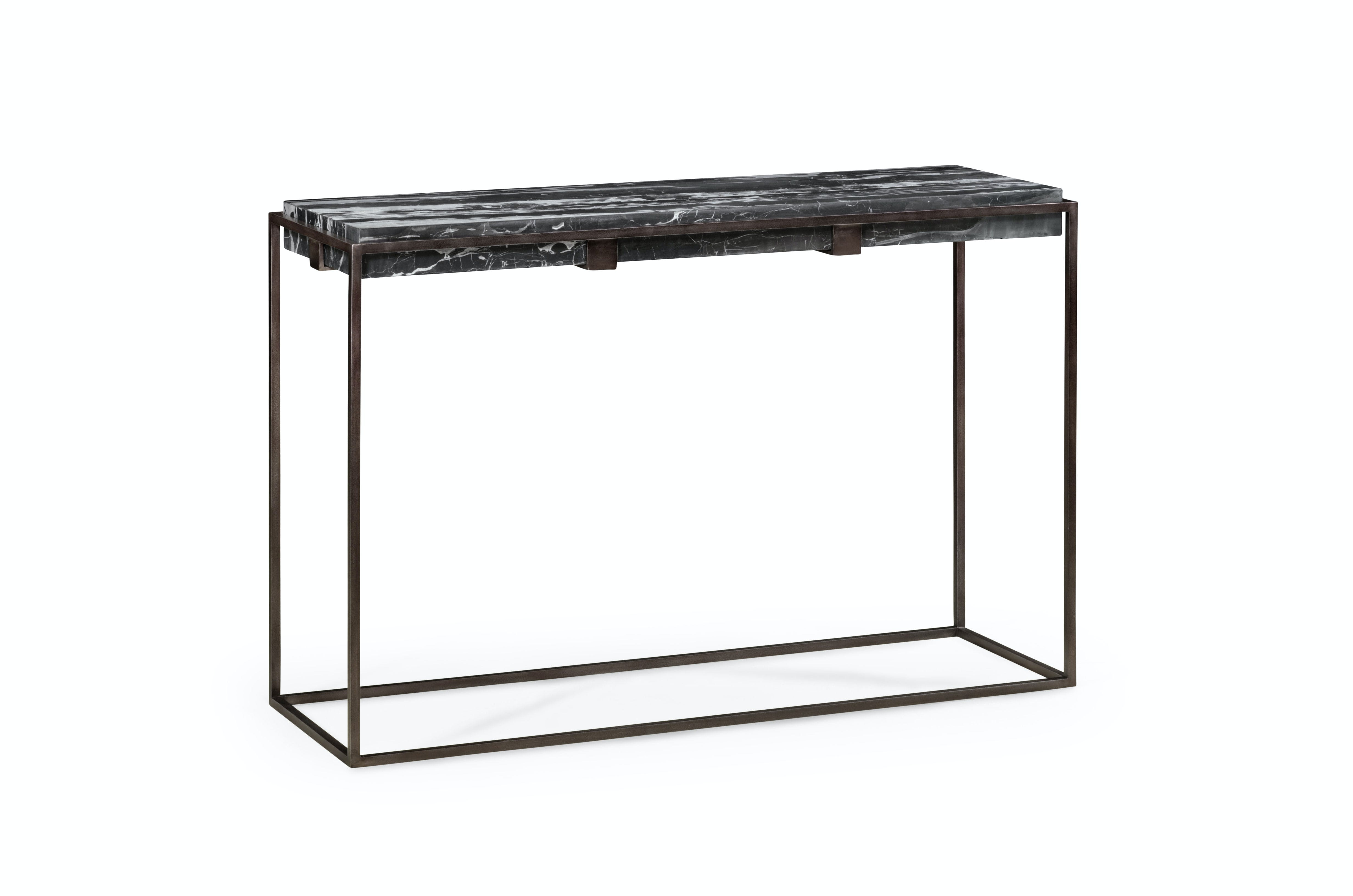 Picture of: Jonathan Charles Outdoor Patio Console Table With Black Marble Top 491174 Aps Issis Sons