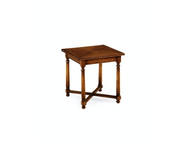 Jonathan Charles Square Parquet Topped Side Table 492017