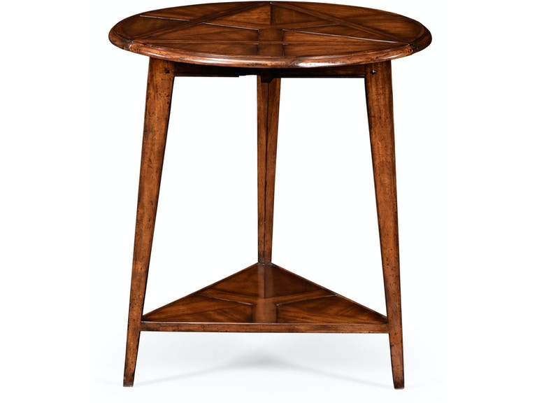 Jonathan Charles Living Room Walnut Cricket Table 492099