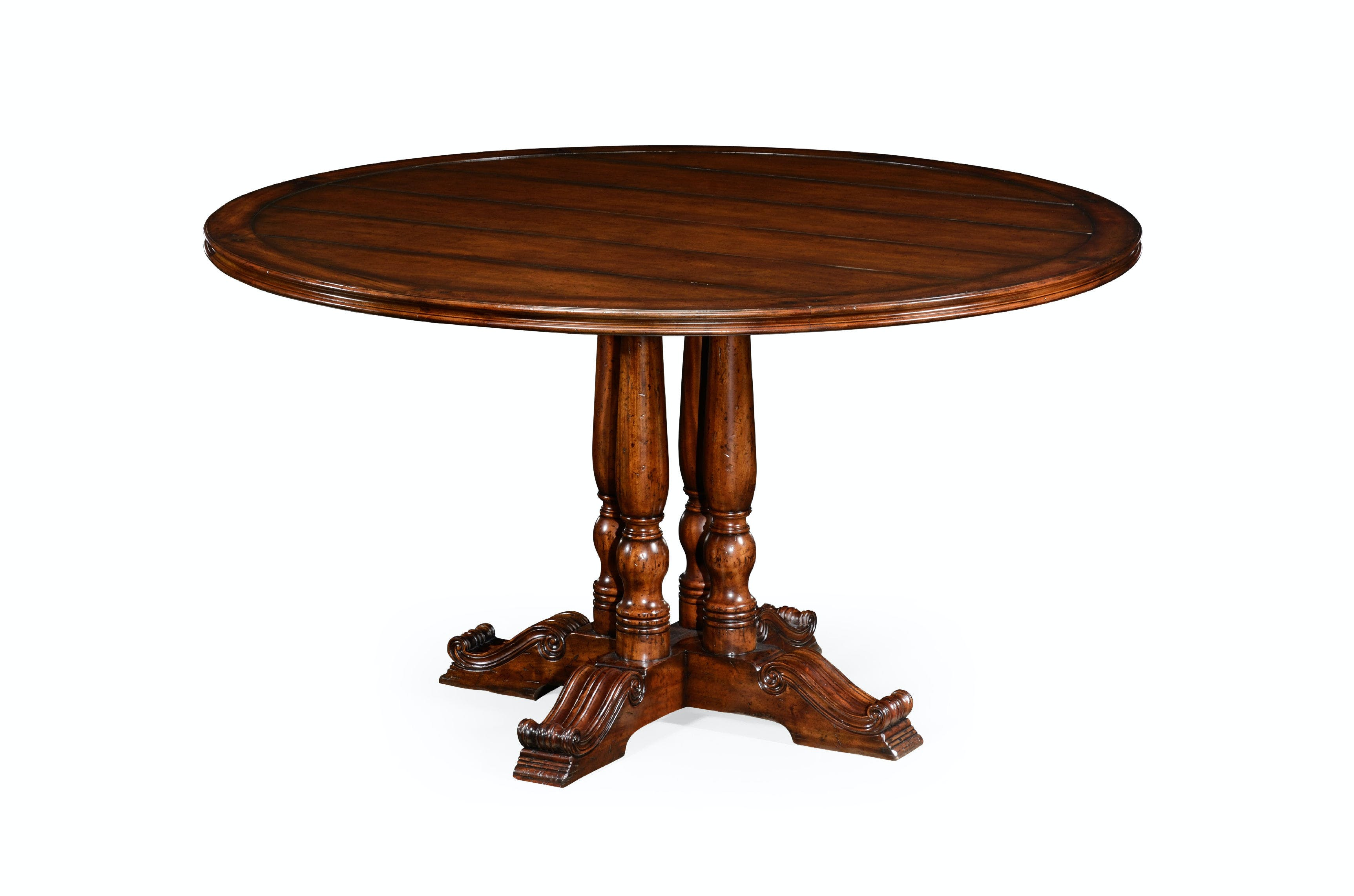 Picture of: Jonathan Charles Dining Room 54 French Round Country Dining Table 492238 54d Gorman S Metro
