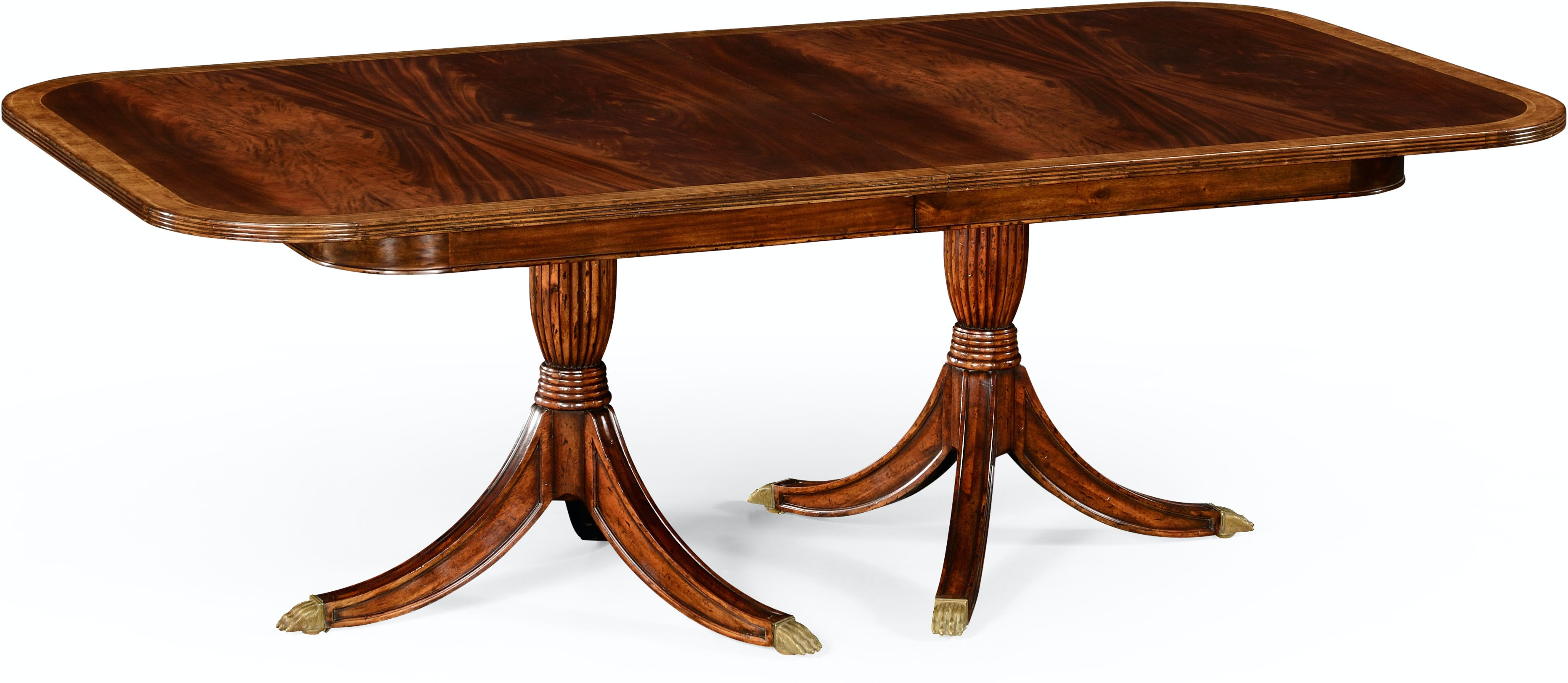 Regency Two Leaf Mahogany Extending Dining Table