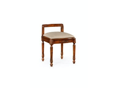 Jonathan Charles French Empire Style Dressing Stool 493029