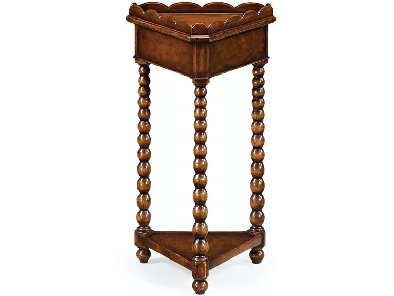 Jonathan Charles Living Room Queen Anne Triangular Lamp