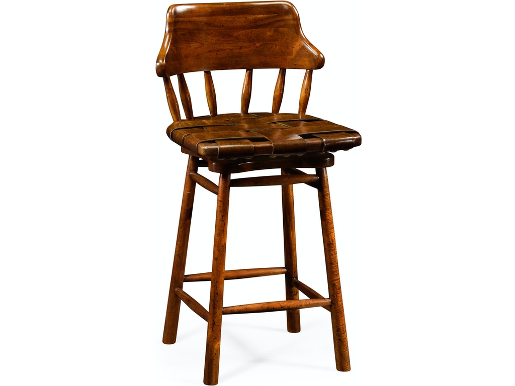 Enjoyable Jonathan Charles Bar And Game Room Country Style Leather Bar Counter Stools Qj493095Cswall002 Walter E Smithe Furniture Design Machost Co Dining Chair Design Ideas Machostcouk