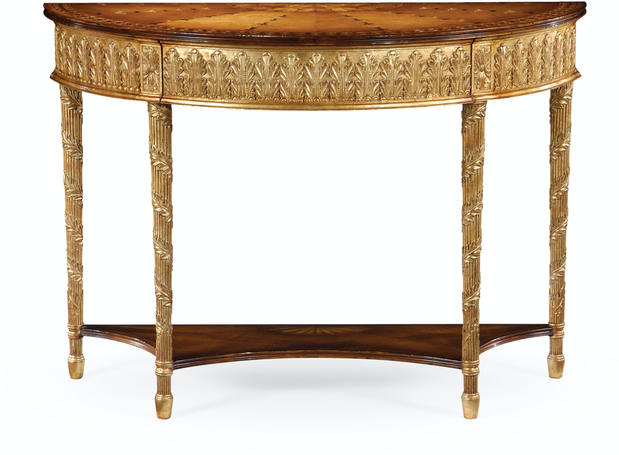 Jonathan Charles Living Room Gilded Console With Shelf  : 493208 gil from www.jbradwells.com size 1024 x 768 jpeg 69kB