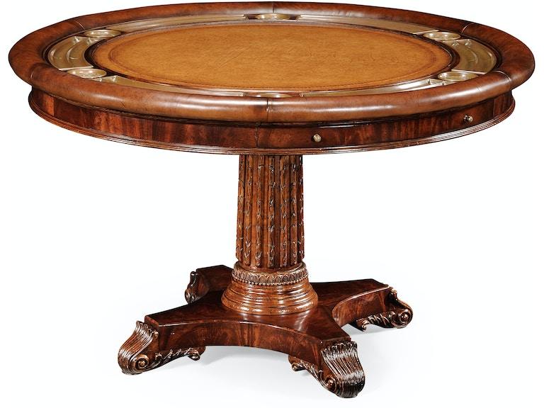 Jonathan charles bar and game room mahogany round poker table 493366 jonathan charles mahogany round poker table 493366 mah watchthetrailerfo