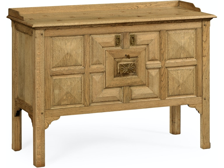 Jonathan Charles Dining Room Natural Oak Tudor Style Cabinet Qj493597lno Walter E Smithe Furniture Design