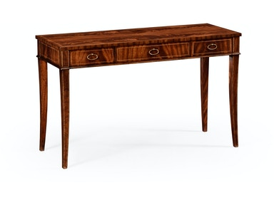 493925 LAM Mahogany Narrow Desk Or Side Table
