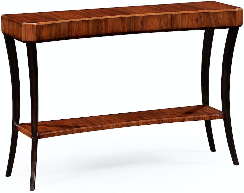 Jonathan Charles Living Room Art Deco Console Table Satin 494086 Sas Toms Price Home Chicago