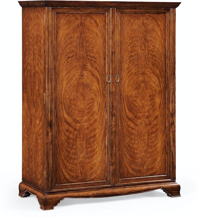 Jonathan Charles Bedroom Large Crotch Walnut Wardrobe