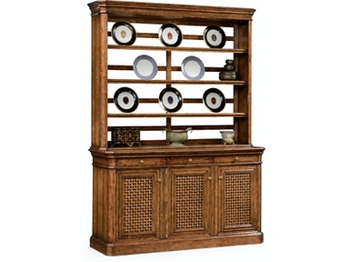 Jonathan Charles Dining Room Dresser On Base With Lattice Doors