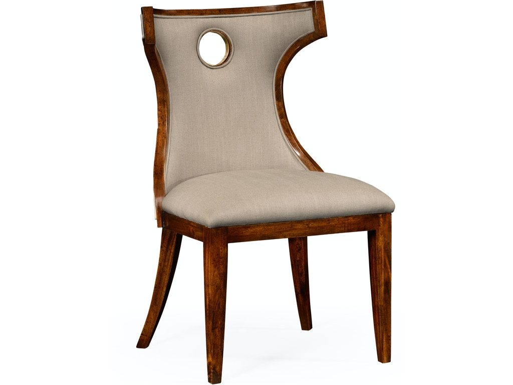 Jonathan Charles Dining Room Greek Revival Biedermeier Mahogany Side Chair Qj495046scbmaf001 Walter E Smithe Furniture Design