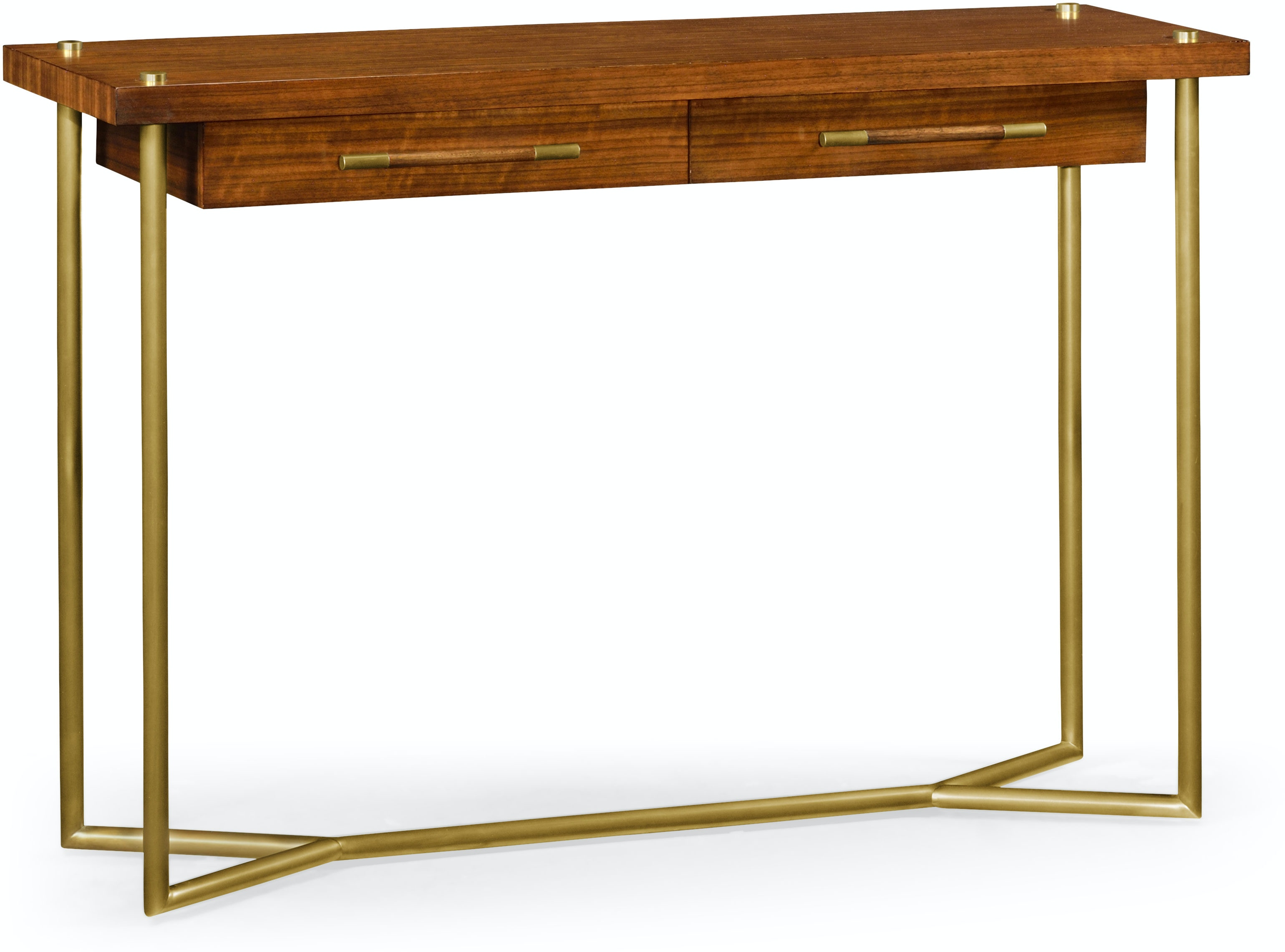 Jonathan Charles Living Room Mid-Century Console Table QJ495412DLF Walter  E. Smithe Furniture + Design