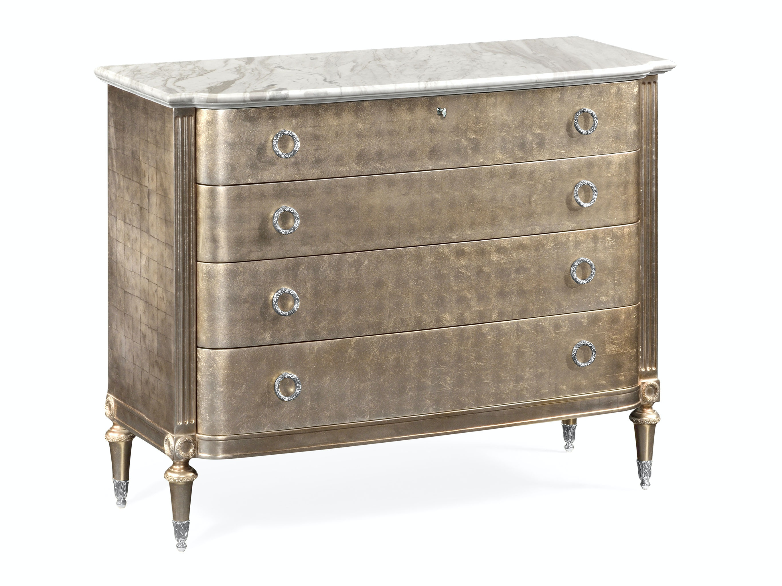 Jonathan Charles Silver Espresso Chest Of Drawers QJ495561ESF From Walter  E. Smithe Furniture + Design