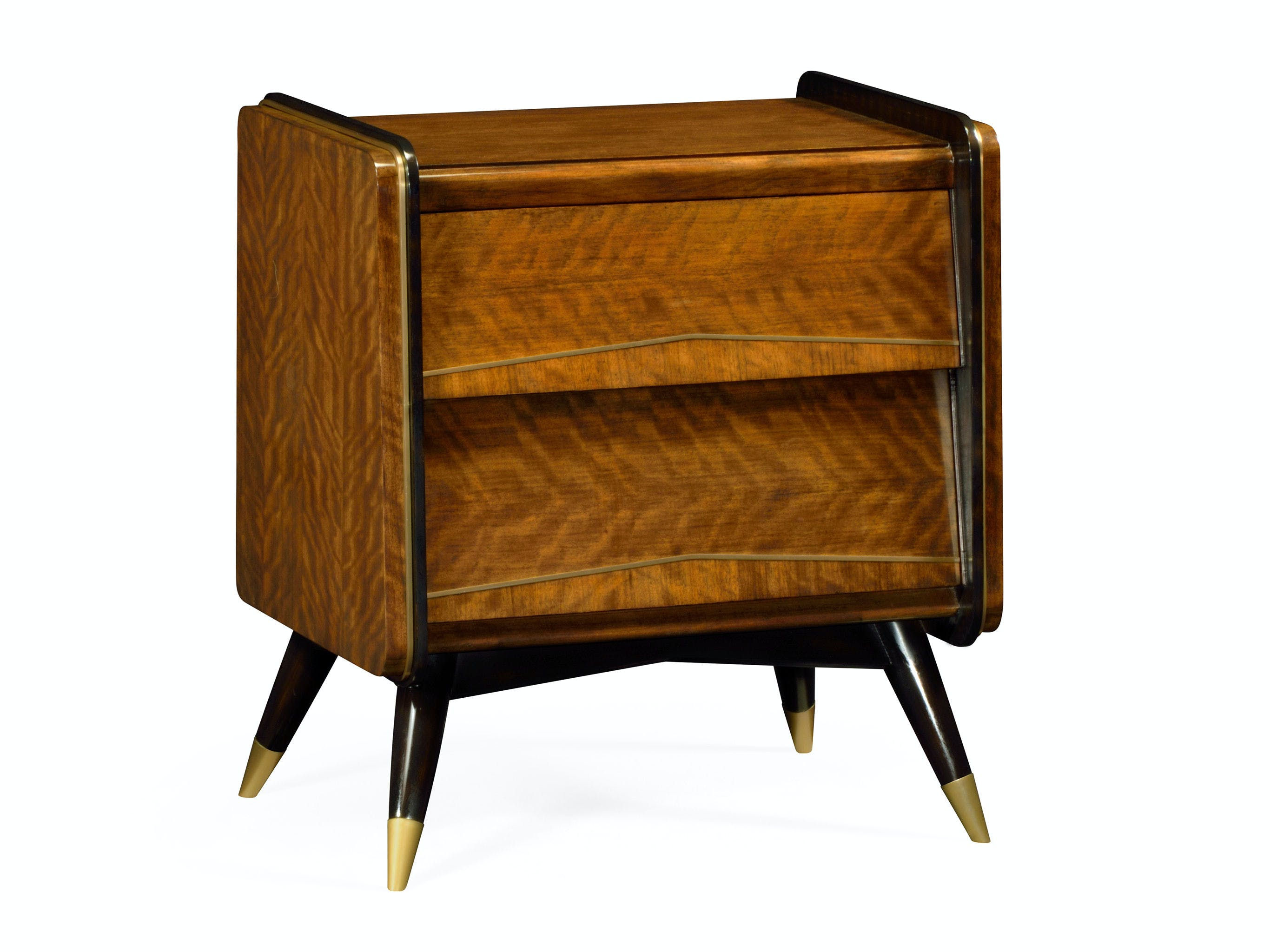 Picture of: Mid Century Bedside Chest Of Drawers Qj495580dlf