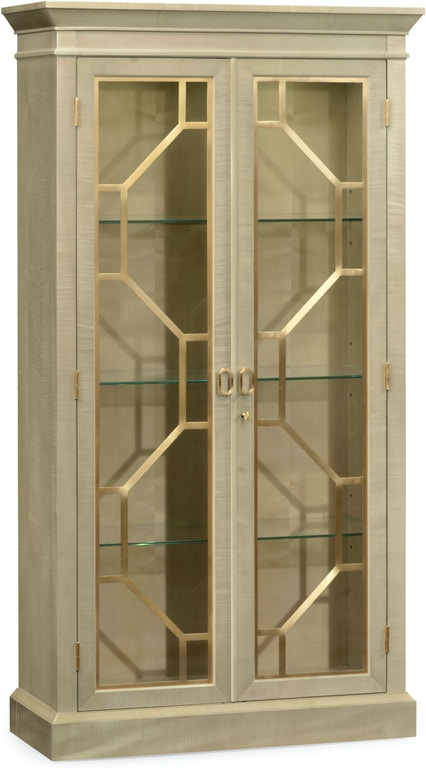 Jonathan Charles Living Room Two Door Display Cabinet