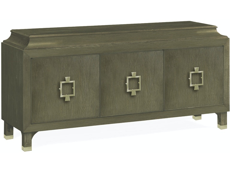 Jonathan Charles Dining Room Three Door Buffet In Pewter