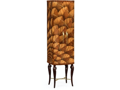Jonathan Charles Feather Inlay Drinks Cabinet 500023-ZEB