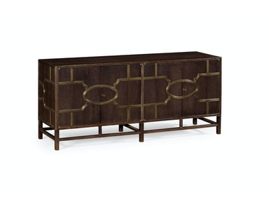 Jonathan Charles Hewlett Buffet (Chocolate Oak) 530099