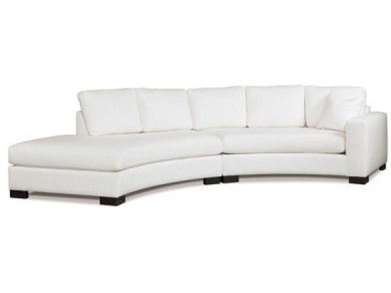 Precedent Furniture Living Room Kylie Sectional 2666-Sectional ...