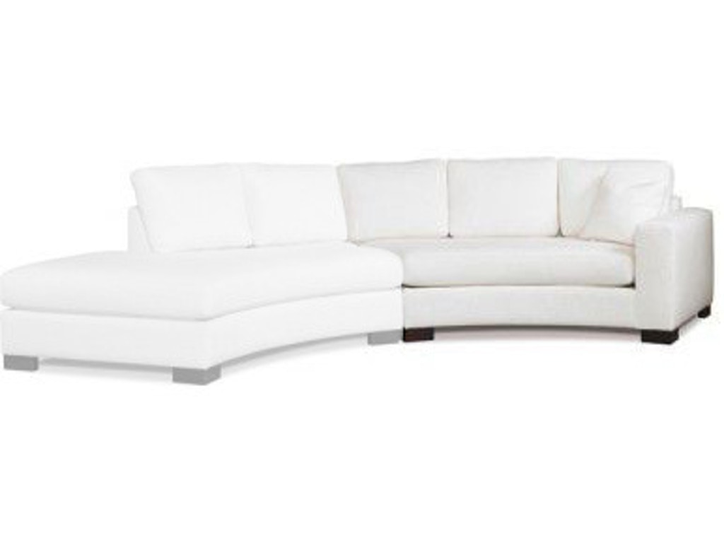 Sensational Paragon Furniture Living Room Curved Chaise Left Yp2666Ccl Walter E Smithe Furniture Design Caraccident5 Cool Chair Designs And Ideas Caraccident5Info