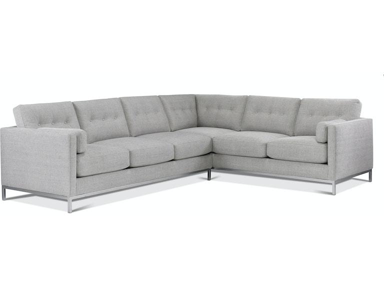 Precedent Furniture 3154 Sectional Preston Portfolio