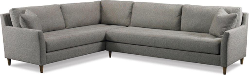 Precedent Furniture Living Room Austin Sectional 3171 ...