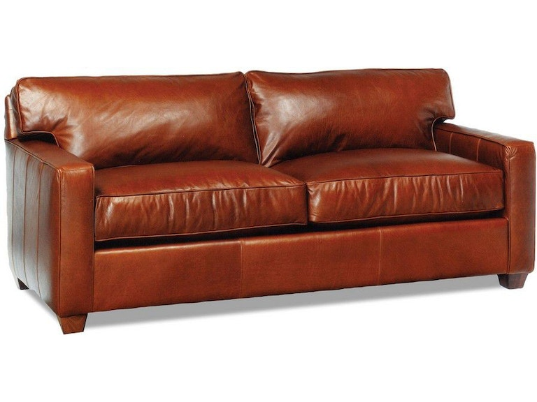 Precedent Furniture Living Room Ethan Leather Sofa L2145-S1 ...