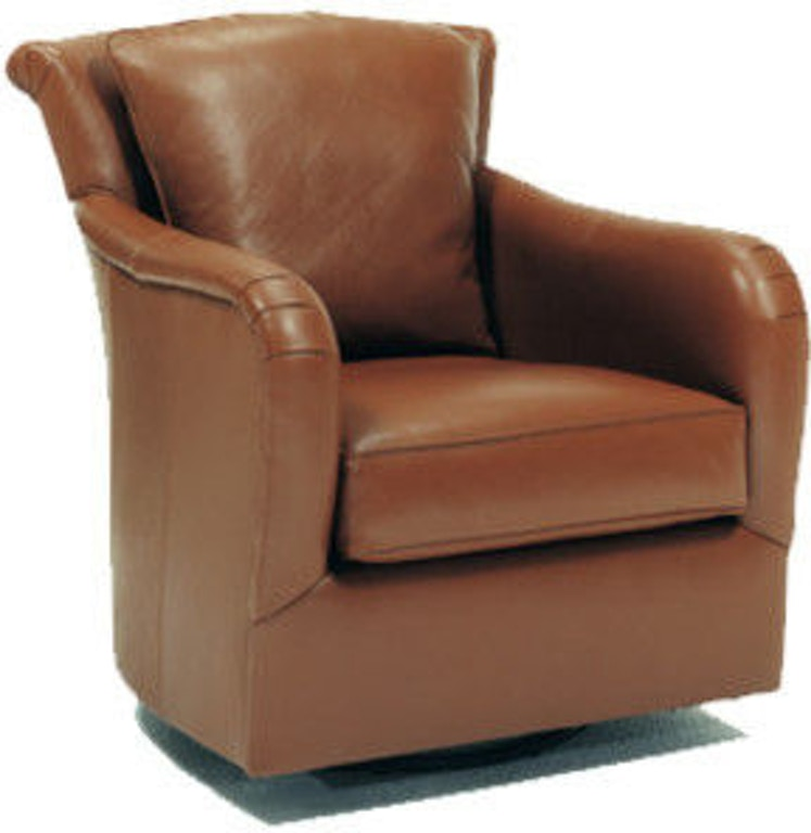 Precedent Furniture Living Room Dalton Leather Swivel Chair L2557-C3 ...