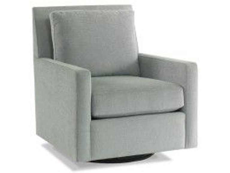 Precedent Furniture Living Room Leather Swivel Chair L3168-C3 - Toms ...