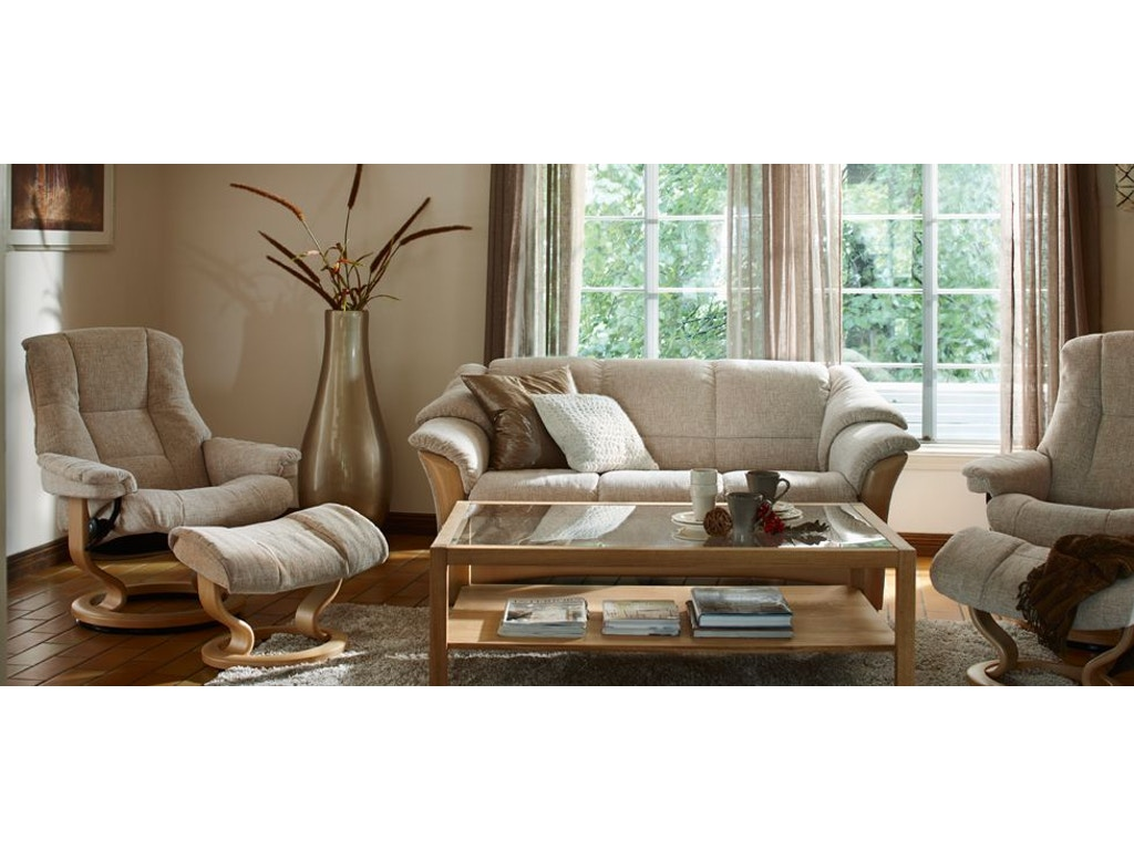 Stressless By Ekornes Living Room Ekornes 174 Oslo Sofa