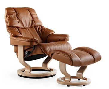 Stressless By Ekornes Living Room Stressless Reno Small Classic