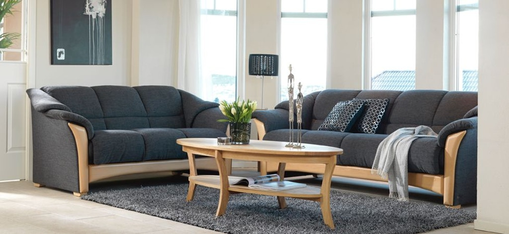 Stressless By Ekornes Living Room Ekornes Oslo Sofa 2218040 Upper