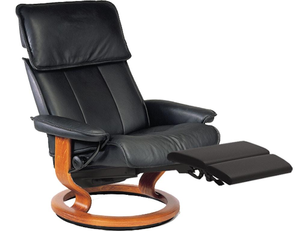 Outstanding Stressless By Ekornes Living Room Stressless Admiral Large Leg Comfort 1061715 Walter E Smithe Furniture Design Inzonedesignstudio Interior Chair Design Inzonedesignstudiocom
