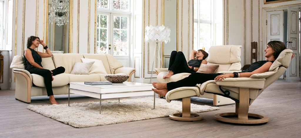 Stressless By Ekornes Living Room Stressless 174 Reno Small