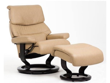 Stressless by Ekornes Stressless® Capri Large Classic Base Stressless Capri Large Classic Base