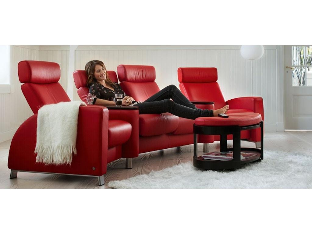 stressless by ekornes living room stressless arion lowback 2 seater medium 1189020 indian. Black Bedroom Furniture Sets. Home Design Ideas
