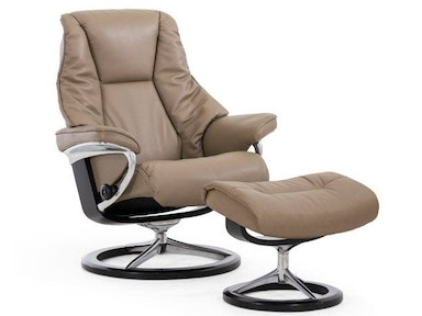 Stressless by Ekornes Stressless® Live Small Signature Base Stressless Live Small Signature Base