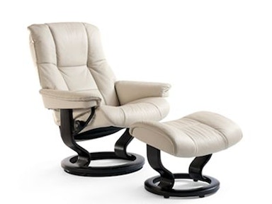 Stressless by Ekornes Stressless® Mayfair Medium Classic Base Stressless Mayfair Medium Classic Base