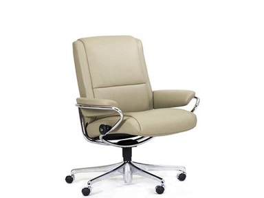 Stressless by Ekornes Stressless® Paris (M) Low Back Office Stressless Paris (M) Low Back Office