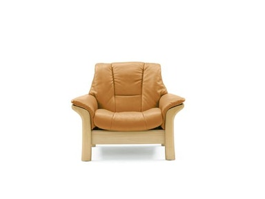 Stressless by Ekornes Stressless® Buckingham Lowback 1 Seater Large Stressless Buckingham Lowback 1 Seater Large