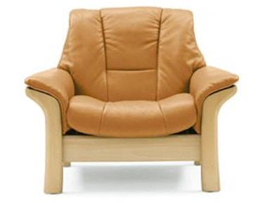 Stressless by Ekornes Stressless® Buckingham Lowback 1 Seater Large 1079010