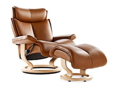 Stressless by Ekornes Stressless® Magic Medium Classic Base Stressless Magic Medium Classic Base