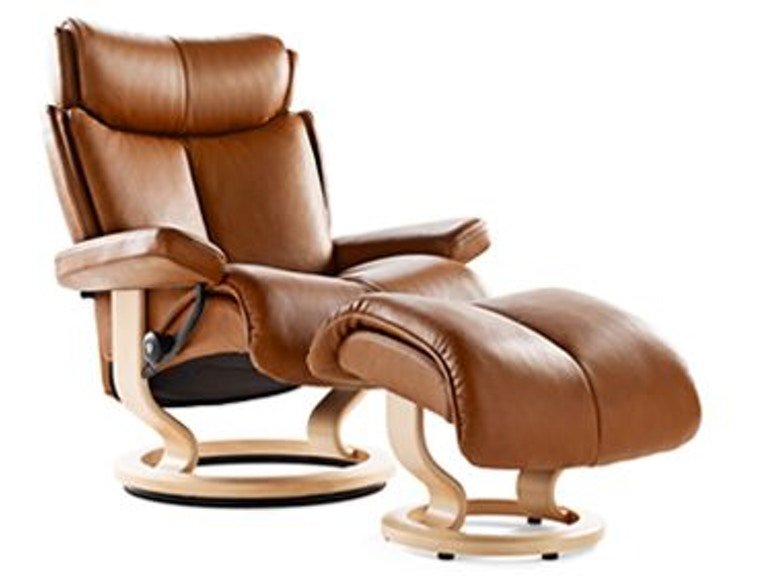 Stressless By Ekornes Magic Small Clic Base 1273015 From Walter E Smithe Furniture