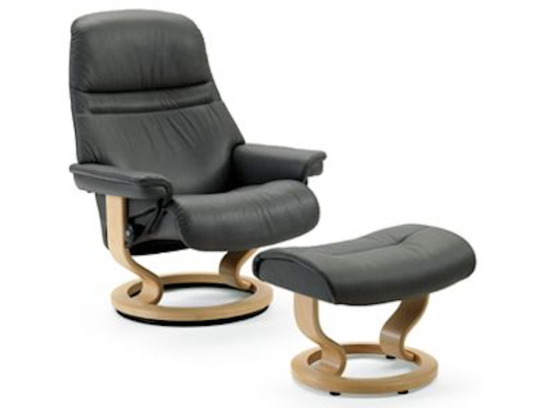 Stressless By Ekornes Sunrise Small Clic Base 1219015 From Walter E Smithe Furniture