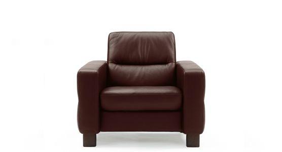 stressless by ekornes living room stressless u00ae wave lowback 1 seater medium 1184010