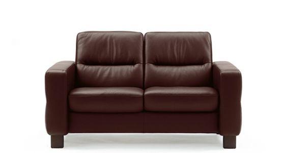 stressless by ekornes 1184020 living room stressless u00ae wave lowback 2 seater medium